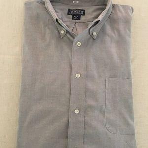 Lands' End Men's Casual Button Down Shirt